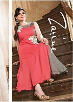 Pink And Grey Cotton Zarine Collection@ Rs.593.00
