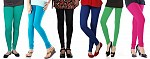 Cotton Leggings Combo Of 6@ Rs.926.00