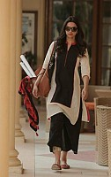 Panchi Solid Black & White Bollywood style cotton Piku kurti@ Rs.205.00