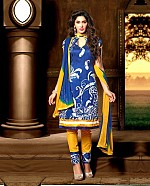 Embroidery Bhagalpuri Silk Salwar Suit with Dupatta@ Rs.387.00