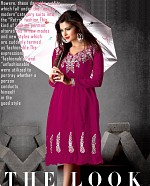 Indo Western Georgette Dress@ Rs.581.00