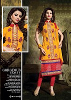 Stylish Cotton Straight Suit@ Rs.388.00