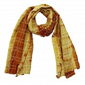 Viscose Printed Yellow Scarf