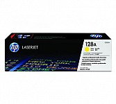 HP 128A Yellow  Toner Cartridge