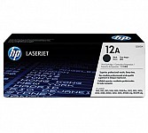 hp 12a laser printer toner cartridge (Q2612A)