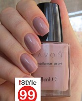 Avon Nailwear Pro + Nail Enamel - Naked Truth 8ml - 19525