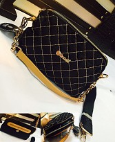 Black Colour Shoulder Bag