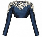 Fabboom Latest Nevy Blue Beautiful Designer Blouse