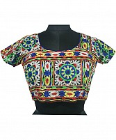 New Latest Multi Colour Floral Embroidered Designer Blouse