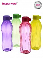 Tupperware  Aquasafe Water Bottle Set, 500ml, Set of 4