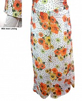 Printed Georgette Palazzo With Lining