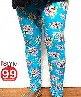High-end European Stretchable Print Leggings-Multi