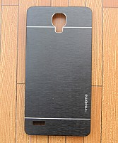 Xiaomi Redmi Note Motomo Brushed Metal Back Cover- Gray