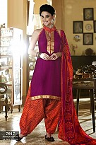 Cotton Patiala Suit