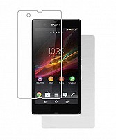 SONY XPERIA Z ULTRA - Fron t& Back Both - Screen Guard/Screen Protector HD Quality