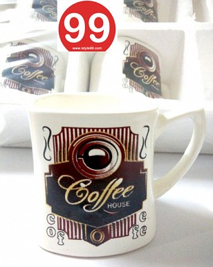 High Quality Bone China Tea Cups and Coffee Mug- Set of 6psc Buy Rs.330.00