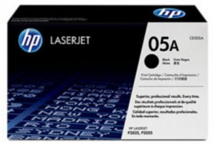 HP 05A Black LaserJet Toner Cartridge@ Rs.6117.00