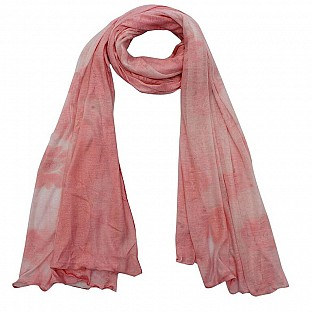 Viscose Printed Baby Pink Scarf @ Rs217.00