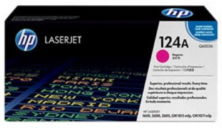 HP 124A Magenta LaserJet Toner Cartridge@ Rs.6551.00