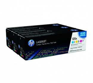 HP 125A Cyan  Toner Cartridge@ Rs.4944.00