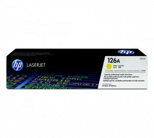 HP 126A Yellow Toner Cartridge @ Rs4141.00