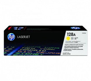 HP 128A Yellow  Toner Cartridge@ Rs.4943.00