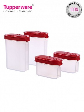 Tupperware Modular Spice Shakers Set, Set of 4 (128)@ Rs.557.00