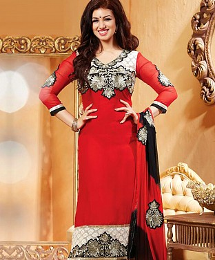 Semi Stitched Suits With Dupatta @ Rs711.00