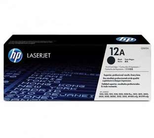 hp 12a laser printer toner cartridge (Q2612A)@ Rs.4367.00