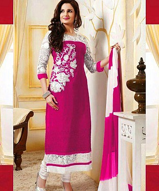 Bollywood Designer Straight Suit@ Rs.750.00