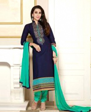 1509_karishma kapoor latest blue colour salwar suit @ Rs1422.00