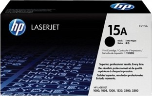 HP 15A Black LaserJet Toner Cartridge@ Rs.4265.00