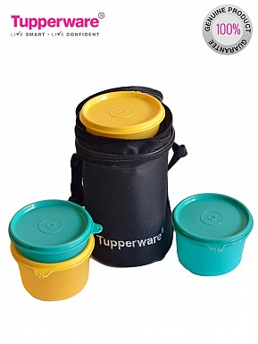 Tupperware Executive Lunch Set with Bag (4 Piece)@ Rs.907.00