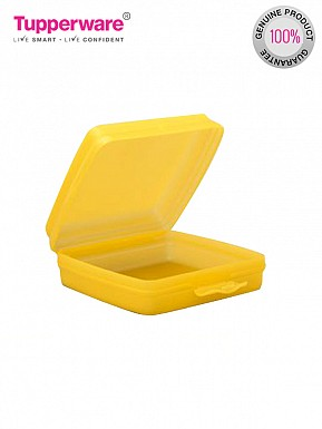 Tupperware Sandwich Keeper Box, Golden Amber@ Rs.255.00