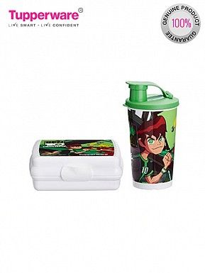 Tupperware Ben 10 Lunch Set, 2-Pieces@ Rs.636.00