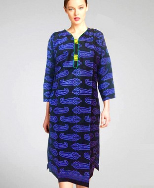 Printed Cotton Kurtis Buy Rs.330.00