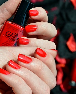 Avon Gel Finish Nail Enamel 8ML - Fire Cracker - 20955 @ Rs237.00