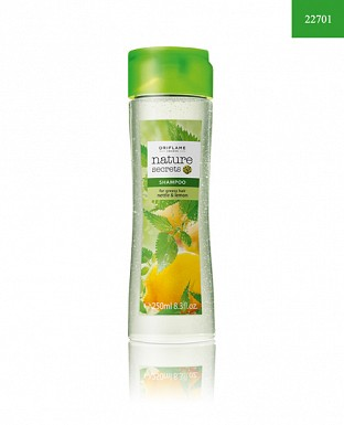 Nature Secrets Shampoo for Greasy Hair Nettle & Lemon@ Rs.259.00
