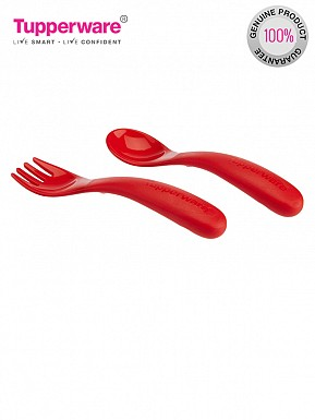 Tupperware Twinkle Cutlery Set, 2-Pieces (231) @ Rs222.00