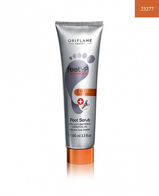Feet Up Advanced 2 in 1 Deep Action Foot Scrub 100ml@ Rs.370.00