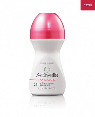 Activelle Anti-perspirant 24h Deodorant Pure Care 50ml @ Rs194.00