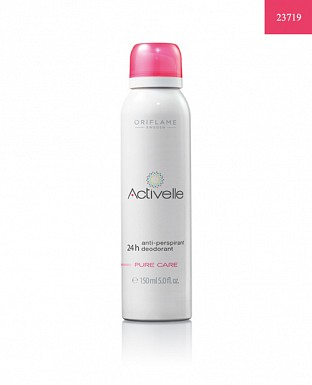 Activelle Anti-perspirant 24h Deodorant Pure Care 150ml @ Rs298.00