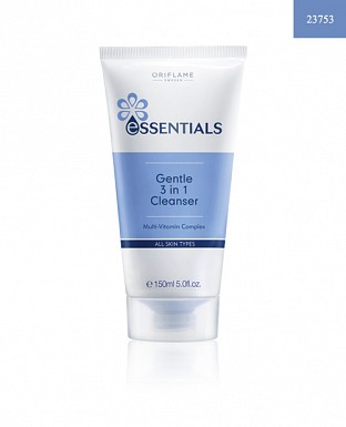 Essentials Gentle 3-in-1 Cleanser 150ml @ Rs288.00