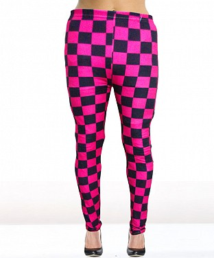 Stretchable Polyester Leggings @ Rs360.00
