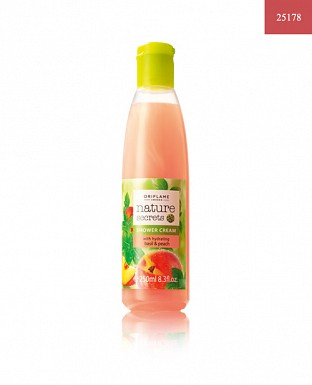 Nature Secrets Shower Cream with Hydrating Basil & Peach 250ml @ Rs370.00