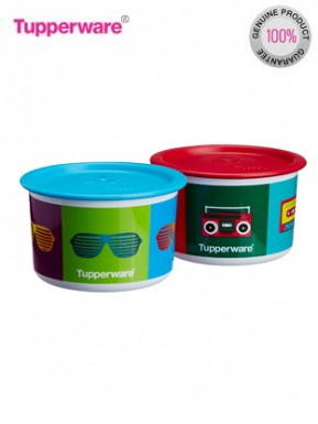 Tupperware Retro Collection One Touch Topper Container Set Comes with Gift Pack @ Rs557.00