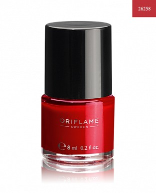 Oriflame Pure Colour Nail Polish - Red Classic 8ml@ Rs.205.00