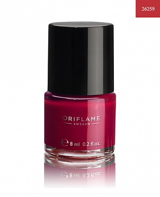 Oriflame Pure Colour Nail Polish - Ruby Pink 8ml @ Rs205.00
