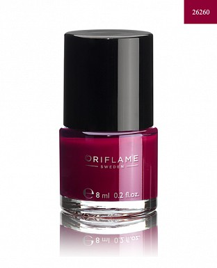 Oriflame Pure Colour Nail Polish - Berry Intense 8ml @ Rs205.00