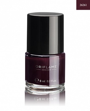 Oriflame Pure Colour Nail Polish - Deep Plum 8ml @ Rs205.00